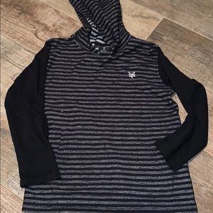 Boys shirt with hoodie size 8